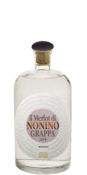Il Merlot di Nonino Grappa An un-aged single grape Grappa obtained from 100% Merlot grapes. GBP 23.99 - See offer at: http://flaviar.com/product/il-merlot-di-nonino-grappa#sthash.Ukzsl81N.dpuf