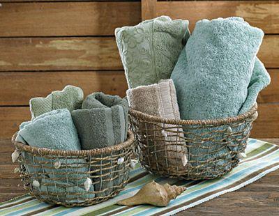 Set of 3 Waterside Baskets