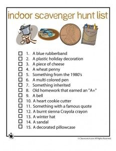 31 best images about Scavenger hunt ideas on Pinterest ...