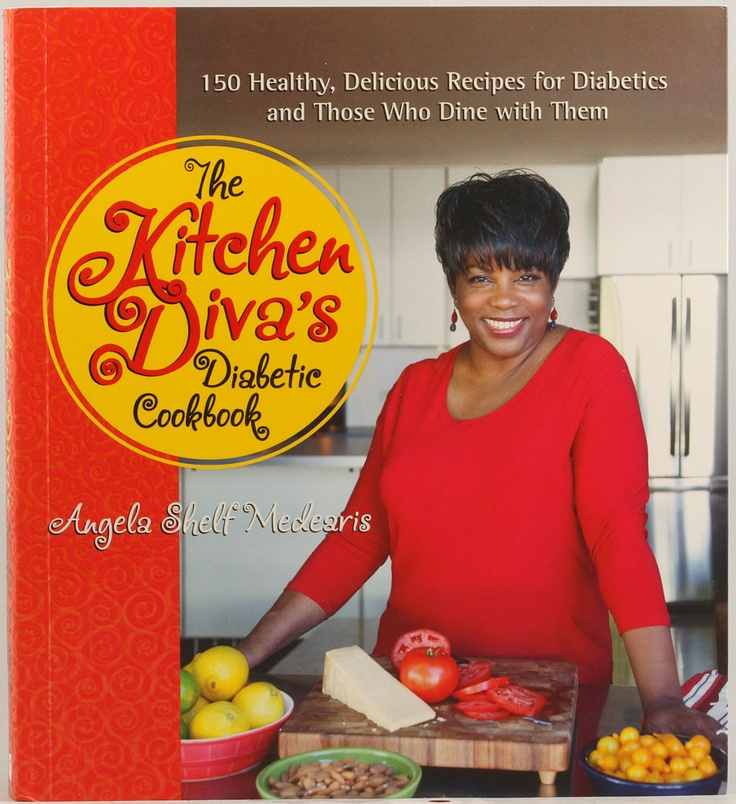 Kitchen Diva Diabetic Cookbook - 150 healthy, delicious recipes for #diabetics and those who dine with them.