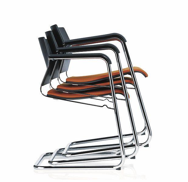 sito orange cantilever chair design wiege distinctive flexible versatile