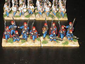 Krigsspil fra Napoleonstiden: Østrigske Seressaner spejdere - MAA 299 Austrian Auxiliary Troops 1792-1816 samt MAA 413 Austrian Frontier Troops 1740-98 men også MAA 419 Napoleon's Balkan Troops - fortæller om grenzer regimenterne der var i fransk tjeneste fra 1809 til 1813