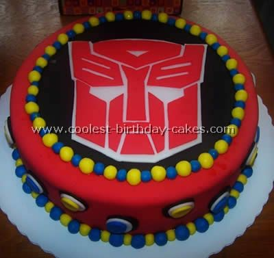 rescue bot cakes | Coolest Transformers Cake Photos and How-To Tips