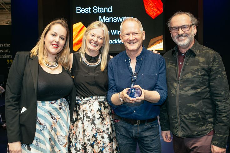 The Display Awards at Pure London celebrated the most innovative and enticing stands at the show. Picked by Stephen Hall, Visual Merchandising Expert, River Island, stands were selected on their commercial and creative merit. Congratulations to Shackleton - Best Menswear stand