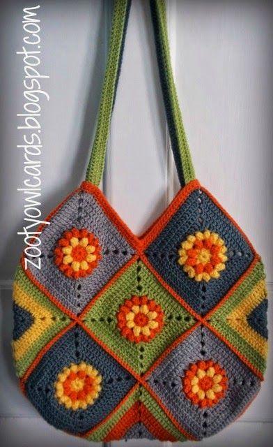 granny square bag                                                       …