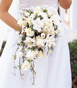 Vintage Bridal Bouquets Ideas | Throw Back Thursday: Cascading Bridal Bouquets