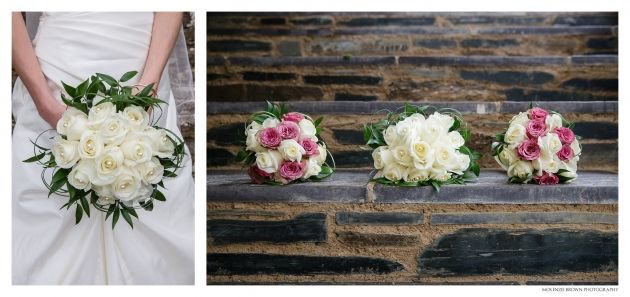 Classic ivory rose bouquet. Mckenzie Brown Photography » Blog