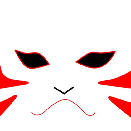 Kakashi Anbu Mask test 1 - ROBLOX