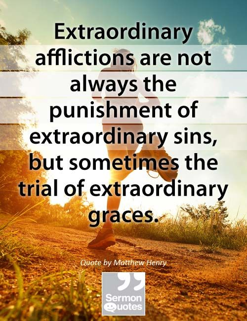 The Punishment For Sin