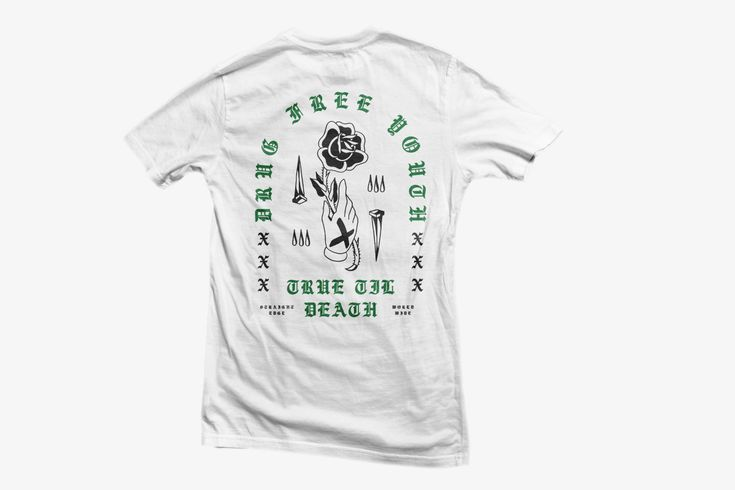 Rose In Hand Tee