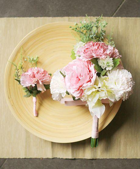 [바보사랑] 시들지않아 더 아름다워요 /조화/웨딩/부케/부토니에/꽃/플라워/artificial flower/Wedding/Bouquets/Wedding