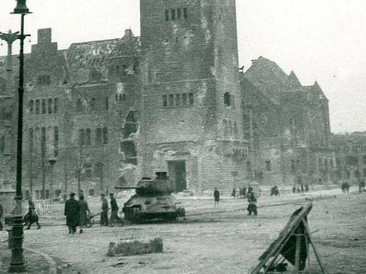 my city Poznań, 71 years ago, Poland