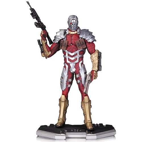 It's The DC Comics Icons Statues - 1/6 Scale Deadshot Statue. Deadshot never misses - and you won't want to miss out on this statue! Torn from the pages of New Suicide Squad, Deadshot is ready for act