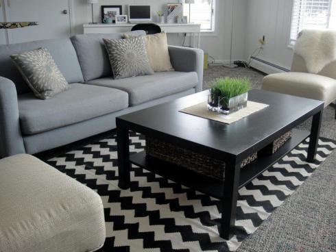living room - ikea style