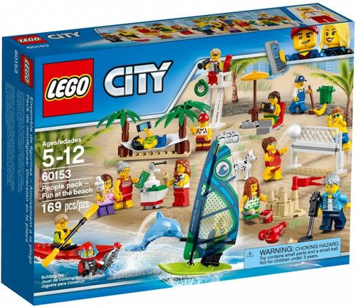 Lego City People Pack Fun At The Beach 5 Lego City Lego Beach Lego City Sets