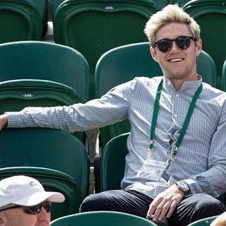 Niall hoy en el torneo de Tenis #Wimbledon - 2/7 #NiallHoran