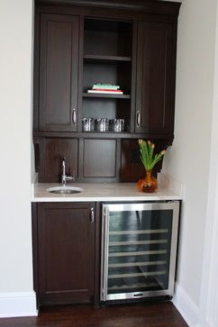Kitchen Mini Dry Bar Ideas | Small Wet Bar Design Ideas, Pictures, Remodel, and Decor