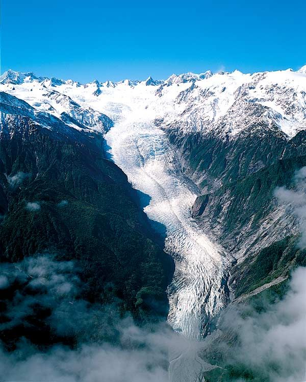 Hiked on the Franz Josef Glacier...most difficult thing EVER..... New Zealand!