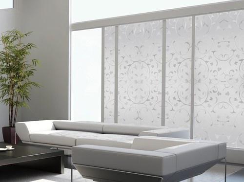 """(€ 13,- /m) LINEA """"Roma"""" Top Qualität Fensterfolie Sichtschutz Glas Dekor"""