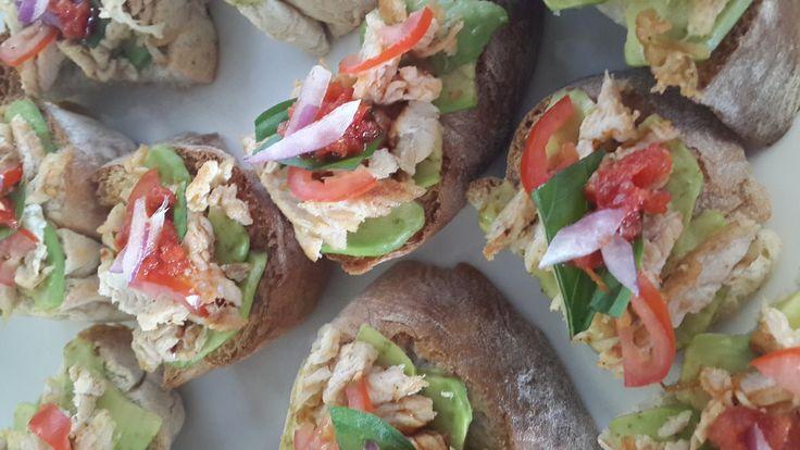 Chicken Ciabatta sandwiches