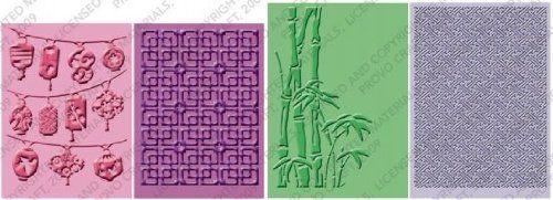 Provo Craft Cuttlebug Embossing Folders, Oriental Weave Cuttlebug http://www.amazon.com/dp/B003NLMQV4/ref=cm_sw_r_pi_dp_6oG5tb1DW4TGB