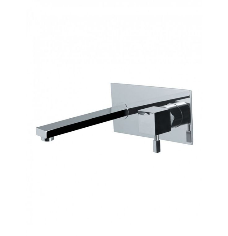 Artize Angelo Single Lever Concealed Basin Mixer (Wall Mounted) With Spout (Composite One Piece Body)