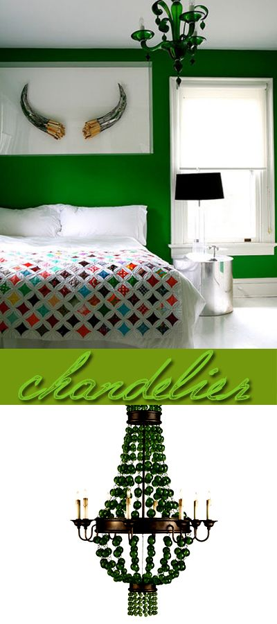 Vintage Green Room Emerald Pinterest Green Rooms