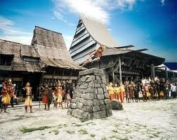 A village in Nias Island