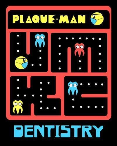 If we would have to play this video game, we definitely would have won the World Guinness Record in destroying all the plaque. 😤   #pacman #plaqueman #dentalfun #dentistryisfun #dentalhumor #dentist #pasadena #california #dentaloffer #pasadenadentist