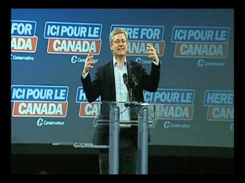 Warning: spitting out of coffee may occur | Leaked vid of Harper's comedic impressions of former #CPC leaders