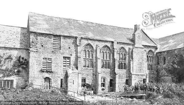 Old Cleeve, Abbey, The Refectory c.1875, from Francis Frith