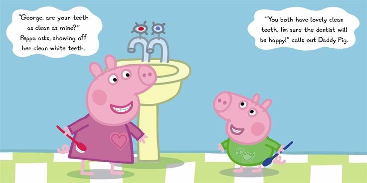 Peppa Pig: Dentist Trip - Puffin Books