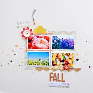 Beauty Fall by TamiG at Studio Calico: Studio Scrapbook, Beauty Fall, Studio Calico, Studios, Scrapbook Photos, Papercrafts, Tamig, Scraplifting Fall, Rainbow