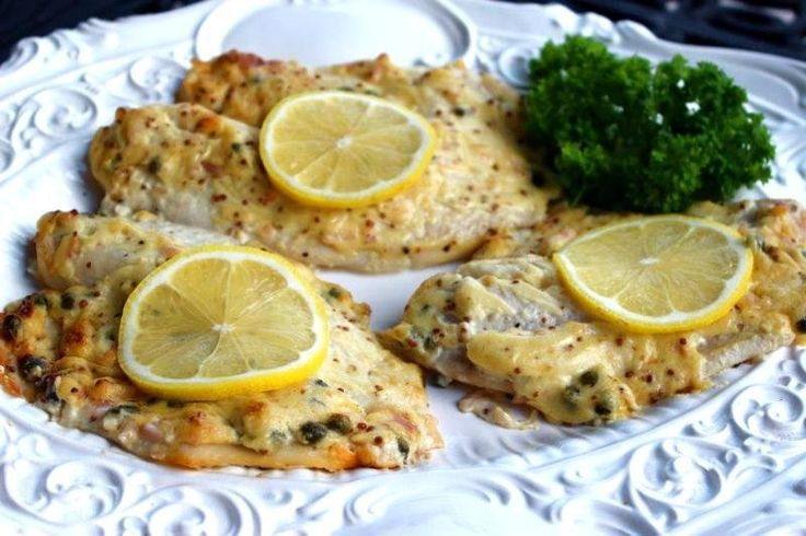 Mustard Roasted Fish, an easy, and healthy, meal thats quick to prepare and easy for a weeknight dinner!