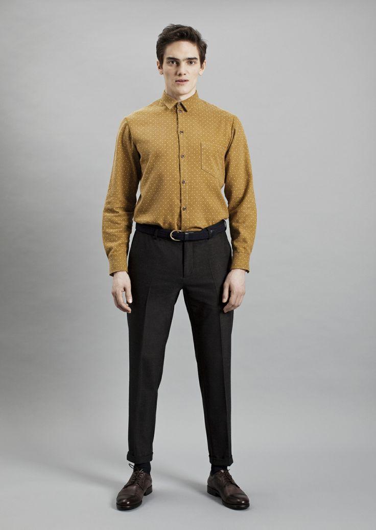 Tela Shirt and Presley Trousers | Samuji Men Fall Winter 2014 Collection