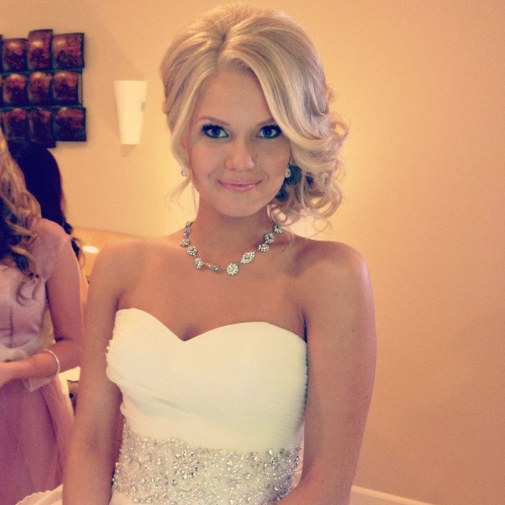 Hair - I love the loose but controlled   look - Erin and Ben's wedding bridesmaid hair?