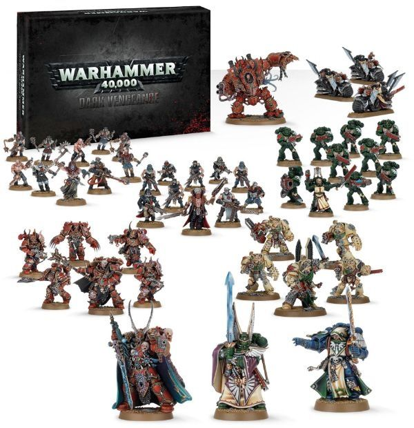 Warhammer 40K Dark Vengeance Start Pakke fra Gamezone. Om denne nettbutikken: http://nettbutikknytt.no/gamezone-no/