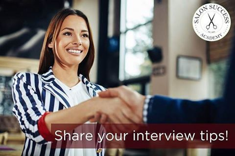 You've gone to beauty school, but now you need to get hired in a salon or spa. Share your interview tips in the comments below! #interviewtips #beautyschool #cosmetology #makeupartist #hairstylist #barber #esthetician #salon http://tipsrazzi.com/ipost/1511146670909767446/?code=BT4q-QLFz8W