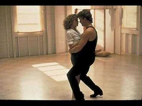 Dirty Dancing - Hungry Eyes - first video pin - but love that you can be smart, without a turned up nose, and get the cool, really sexy guy.