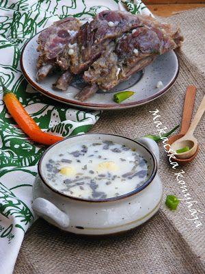 Makacska konyhája: Tárkonyos leves füstölt oldalassal