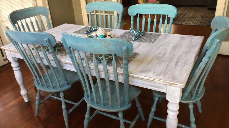 Chalk Paint Dining Room Set: 1000+ Ideas About Dining Table Makeover On Pinterest