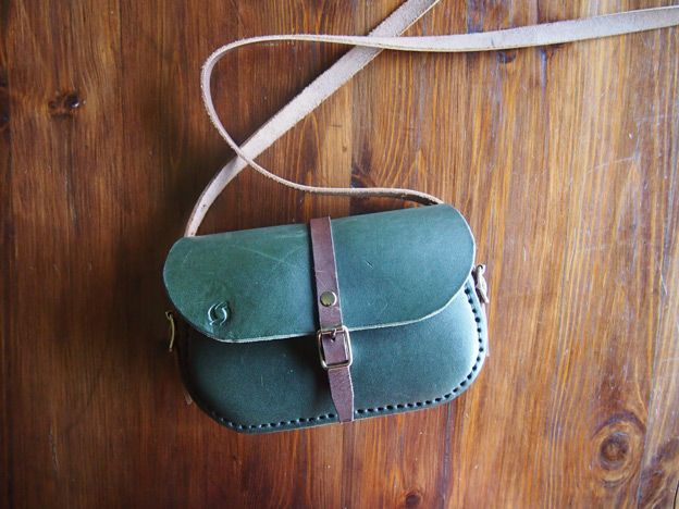 handcrafted leather goods