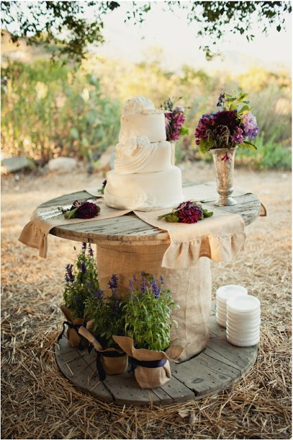 Where to find wooden spools and what you can do with them!