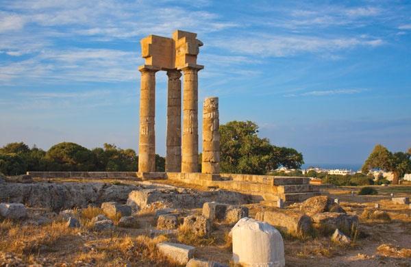 Acropol, Rodos, Rhodes Island, Dodecanese,Greece, Amazing Greece, Удивительная Греция, Акрополь города Родос