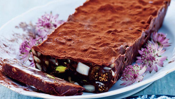 Chokoladetrøffel med nødder