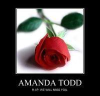 Amanda Todd Death   Amanda Todd's Death Images