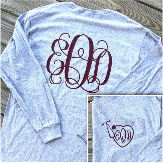 Hey, I found this really awesome Etsy listing at https://www.etsy.com/listing/247570012/monogrammed-nurse-stethoscope-long