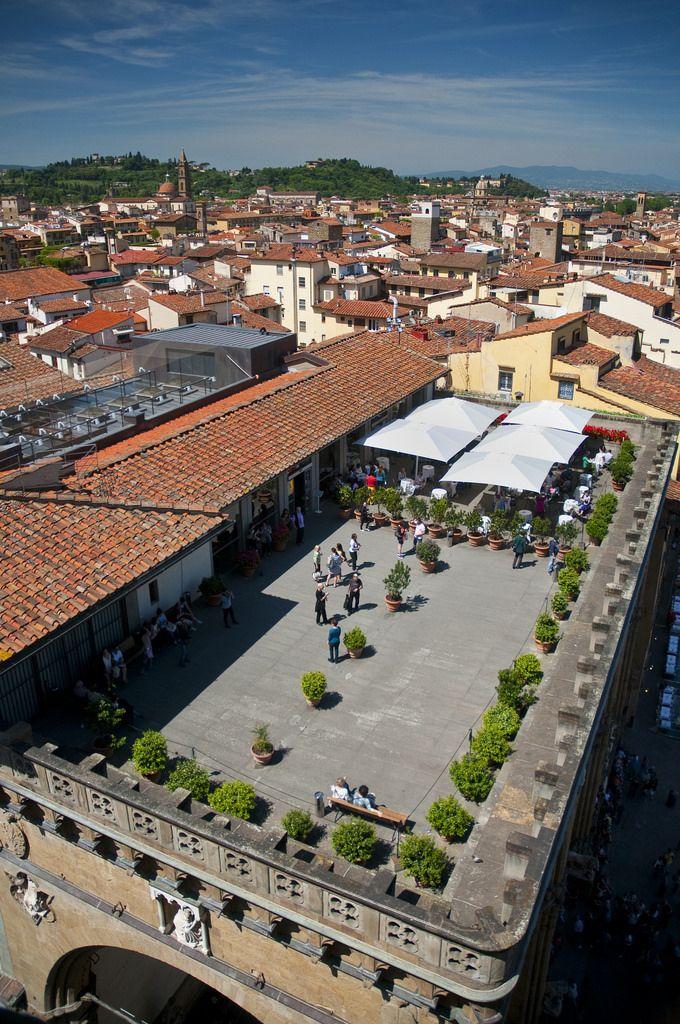 Italy - Florence - Uffizi Cafe terrace