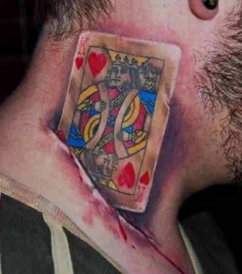 Покерное тату или партак на всю жизнь?