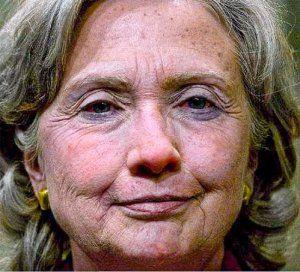 История болезни сумасшедшей старухи Хиллари Клинтон (видео)